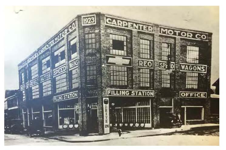 carpenter motor co