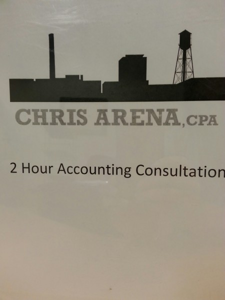 2 Hours of Accounting Consultation from Chris Arena, CPA