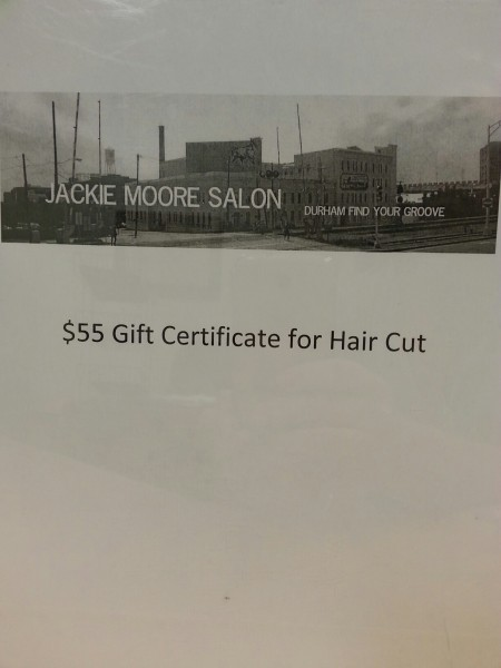 $55 Gift Certificate from Jackie Moore Salon