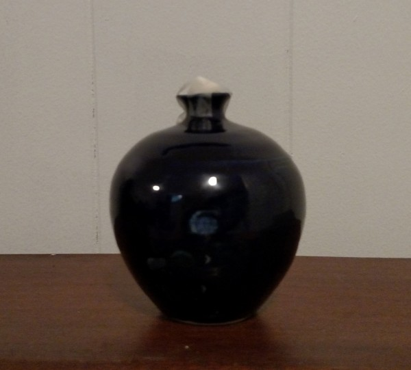 Oil Lamp from Lynn Morrow Pottery