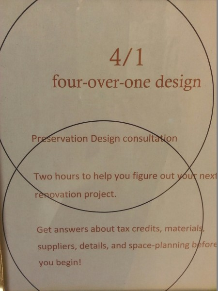 Two Hour Renovation Consultation with 4 Over 1 Design