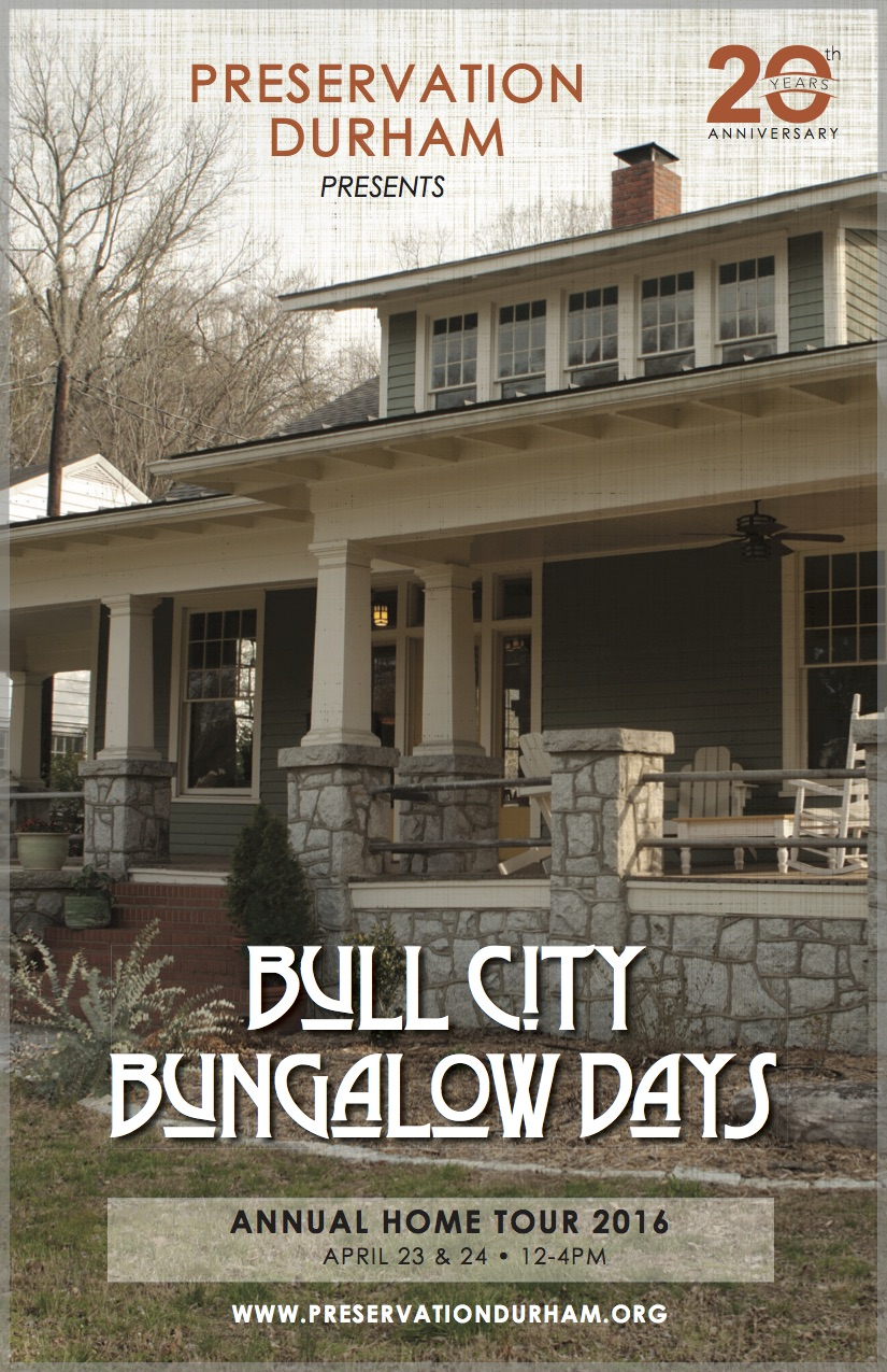 Home Tour 2016 Bull City Bungalow Days Preservation Durham